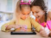 Medienbildung für Kinder am Tablet