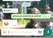 "Screenshot ""Komm"""