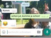 """Screenshot """"Komm"""""""