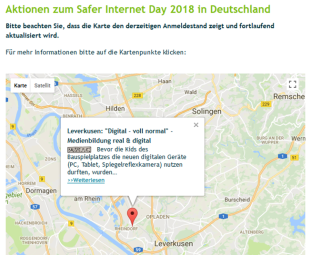 Safer Internet Day 2018 Medientraining